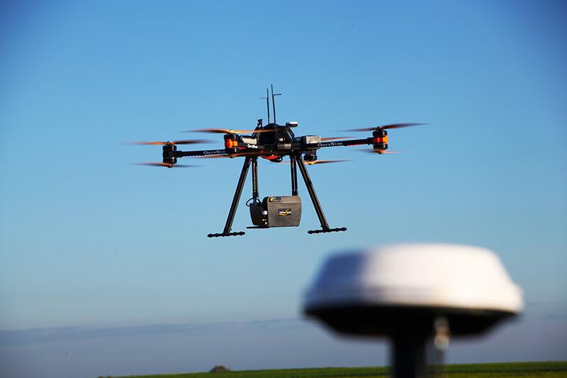 drone e sensor