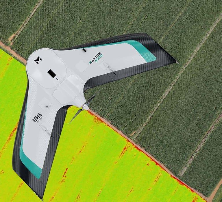 drones na agricultura de precisão
