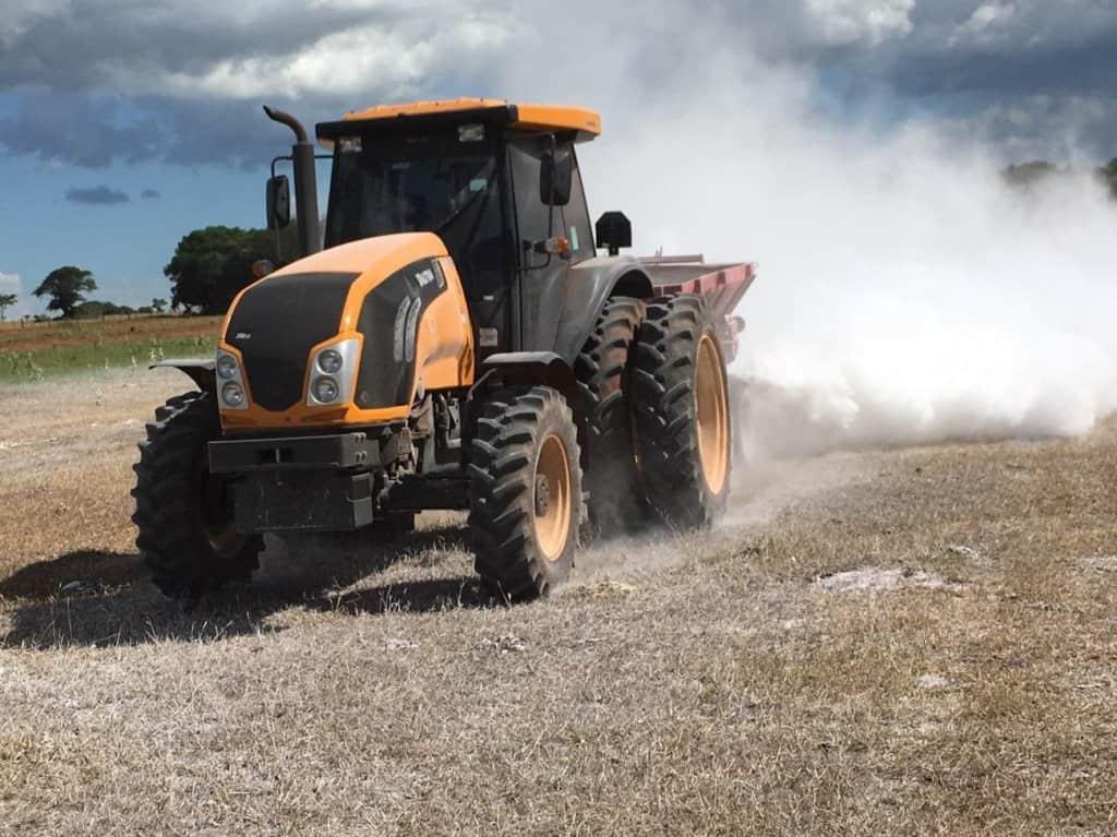 calagem e correção do solo