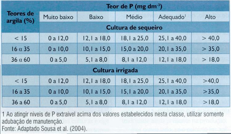 níveis-fósforo-arroz