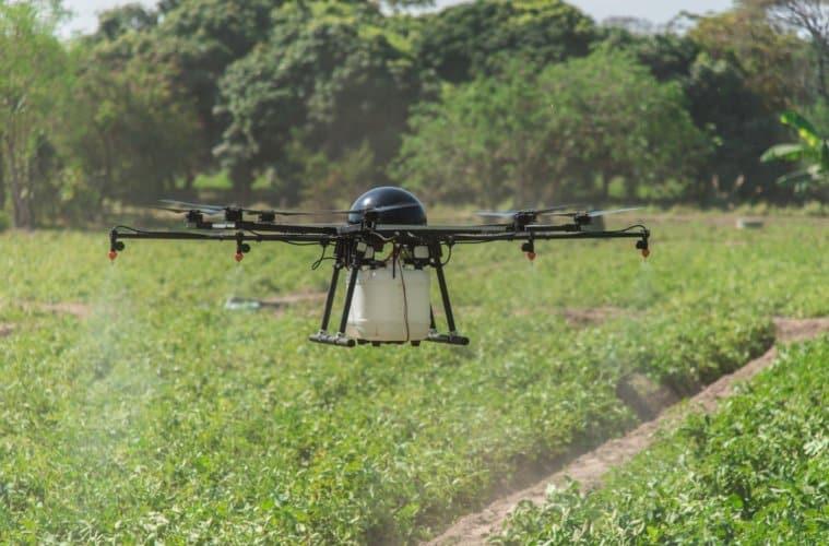 drones agrícolas
