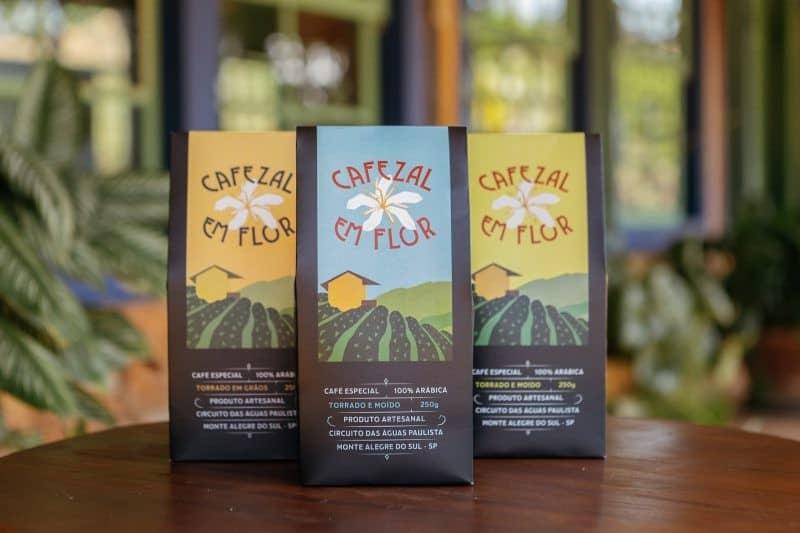 Exemplo de cafés especiais com produção artesanal e, consequentemente, maior valor agregado