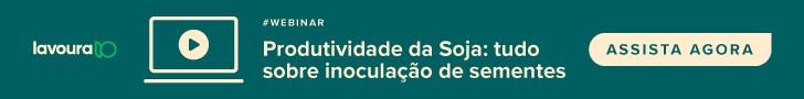 banner inoculação de soja - webinar Aegro