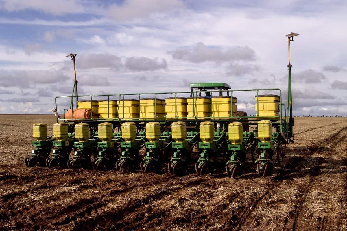 regulagem de semeadora