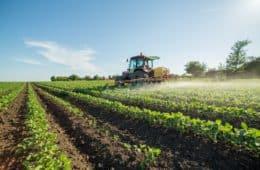 aplicação de fungicidas na soja