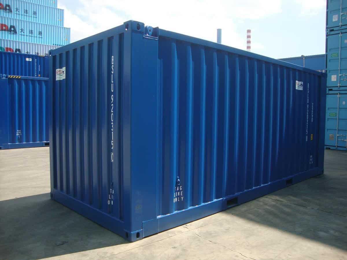 Container dry utilizado para armazenamento de sementes