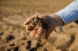 construção do perfil do solo